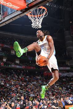 Kenneth Faried Denver Nuggets NBA Slam Dunk Contest