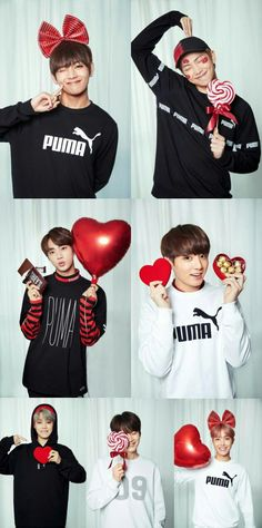 Aish!!! How can I permanently choose a bias? They're all my favorites. Help me!! Lol❤