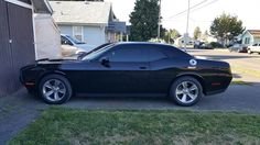 Dena's 2015 Dodge Challenger a.k.a Black Beauty