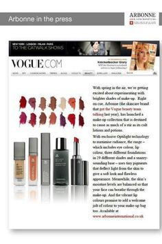 Try Arbonne cosmetics. You will never go back. Pure, Safe & Beneficial. Visit my page: www.tanyakudlacik.arbonne.com