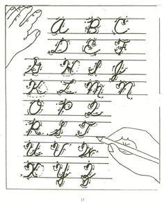 A to Z Cursive Letters   View Cursive Letters A-Z's Handwriting