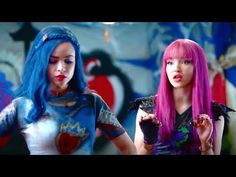 Descendants 2 Trailer 2 Uma fights Mal - 2017 Disney Movie Official Video - YouTube