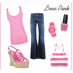 Love Pink, created by danielle-schmitz.polyvore.com