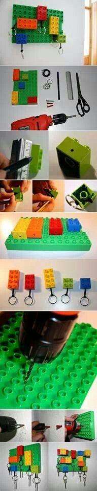 Věšák na klíče Lego Duplo