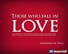 those who fall in love