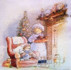 Foxwood Tales by Cynthia and Brian Paterson ・ Foxwood Tales Books Illustrations