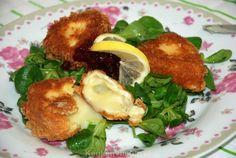 Gebakken camembert met preiselbeeren Om, Food And Drink, Snacks, Chicken, Appetizers, Treats, Cubs