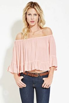 Ruffled Crepe Top | Forever 21 #thelatest