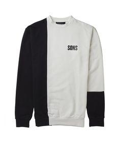 SONS LS Quarter Panel Sweatshirt   Shop Men's clothing at The Idle Man