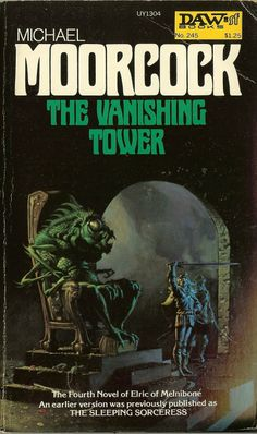 'The Vanishing Tower'. DAW Books. (834×1410)