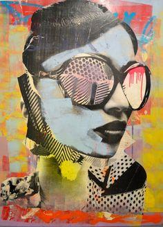 ART & FASHION SALON: Street Artist DAIN Brings Glamour & Graffiti To Folioleaf Gallery!