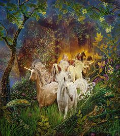 Free Tarot Card of the Day Reading. Free Tarot Card Reading to learn more about your career and relationships. Unicorn Horse, Unicorn Art, Magical Unicorn, Unicorn Fantasy, White Unicorn, Fantasy Creatures, Mythical Creatures, Unicorns And Mermaids, Unicorn And Fairies