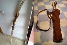 Cómo hacer un arco de madera   Bricolaje Stuart Weitzman, Aficionados, Personalized Items, Heels, Cosplay, Night, Knives And Swords, Arrows, Composite Bow