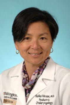 WUSTL Audiology and Communication Sciences: Keiko Hirose, M.D., Research Associate Professor, Audiology and Communication Sciences and Department of Otolaryngology (Joint)