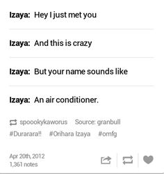 Izaya meets Mikado