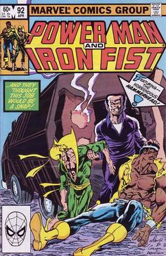 power man and iron fist comics | Power Man And Iron Fist, Vol. 1 #92 - Riding Shotgun on Comic ...