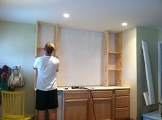 """Cameron & Co. """"The Well Dressed Home""""   diy built-ins"""