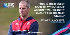 #ENG coach Stuart Lancaster puts #AUS clash in perspective #ENGvAUS #RWC2015