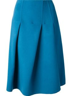 JIL SANDER - inverted pleat skirt 6