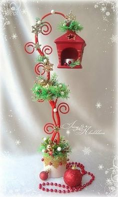 images attach c 9 107 177 Christmas Minis, Christmas Design, Christmas Art, All Things Christmas, Christmas Ornaments, Felt Christmas Decorations, Christmas Lanterns, Diy Christmas Gifts, Cadeau Surprise