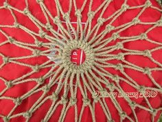Net Making is one of the oldest known crafts that has been practised by mankind. Almost unchanged for thousands of years peoples of every c. Net Making, Lace Making, Macrame Bag, Macrame Knots, Hoop Net, Decorative Knots, Crochet Jumper, Crochet Market Bag, Rope Knots