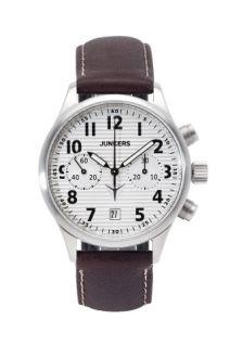 Junkers Wellblech JU52 Chronograph 6216 kaufen - http://www.steiner-juwelier.at/Uhren/Junkers-Wellblech-JU52-Chronograph-Handaufzug::498.html