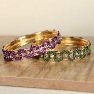 Handmade bangles for a little bling, Dream studio Dream Studio, Bangles, Bracelets, Gold Rings, Rose Gold, Bling, Handmade, Accessories, Jewelry
