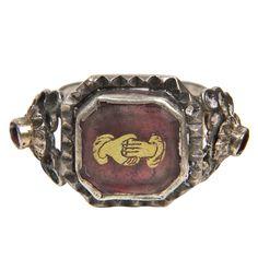 1stdibs.com | 18thc  Sterling Silver Ring