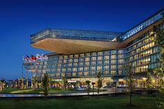 JW Marriott Hanoi and Convention Center, Hanoi Vietnam WERK | Charles Anderson Landscape Architecture