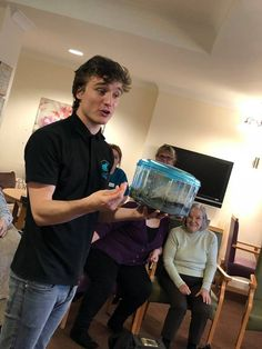 Up close and personal with Zoolab - Springhill Care Home