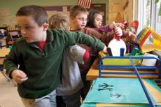 """""""Behavior Challenges in the Homestretch? Interactive Modeling Can Help"""" -- classroom management ideas for the end of the school year  (Photo © Jeff Woodward)"""