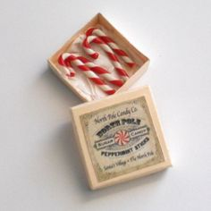 1/12 Scale Miniature Vintage Christmas Candy by dianecostanza, $9.99