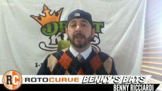 DraftKings MLB Picks: Benny's Bats 4-19-16