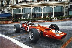 Bruce McLaren - McLaren M7C Ford Cosworth DFV - Bruce McLaren Motor Racing - XXVII Grand Prix Automobile de Monaco - 1969 World Championship for Drivers, round 3