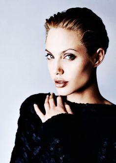 le-jolie: Angelina Jolie photographed by Sante... - Angelina Jolie | always-angelina