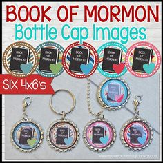 Book of Mormon PRIMARY Bottle Cap Images by mycomputerismycanvas. Get your bottle caps and epoxy at www.fizzypops.com.