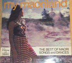 My Maoriland Best Of Maori Songs And Dances New Zealand Vinyl Folk Record Album by RASVINYL on Etsy