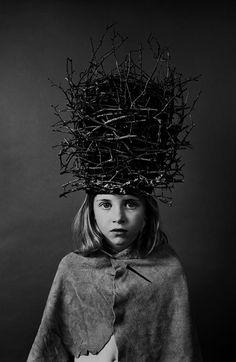 nothingpersonaluk:    Dennis Savage: Twig Helmet