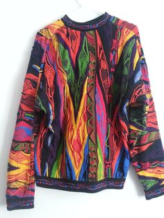 Vintage 90s COOGI Knit Sweater by ReplaySD on Etsy