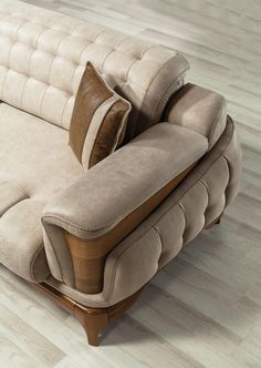 Sofa Bed Design, Living Room Sofa Design, Bedroom Bed Design, Sofa Furniture, Luxury Furniture, Furniture Design, Simple Bed Designs, Wooden Sofa Set Designs, 3d Home