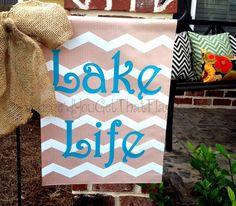 Custom+Personalized+Yard+Sign+Lake+Life+by+Wheredyougetthatflag,+$25.00