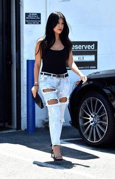 Kourtney Kardashian in LA