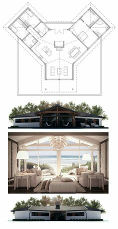 Container House - plan de maison Plus - Who Else Wants Simple Step-By-Step Plans To Design And Build A Container Home From Scratch? Modern House Plans, Small House Plans, House Floor Plans, Unique Floor Plans, Building A Container Home, Container House Plans, Container Homes, Casas Containers, House Layouts