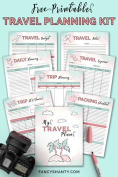 holiday trip To help you get organized before your next adventure, we have created this free printable travel planner perfect for budgeting your trip, planning your itinerary, making sure Planner Free, To Do Planner, Planner Template, Printable Planner, Happy Planner, Planner Book, Itinerary Planner, Travel Itinerary Template, Vacation Planner
