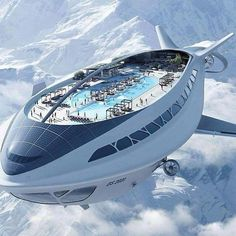 Air cruises in Zeppelin. Futuristic Technology, New Technology, Transportation Technology, Technology Design, Japan Today, Future Tech, 2020 Future, Futuristic Architecture, Private Jet