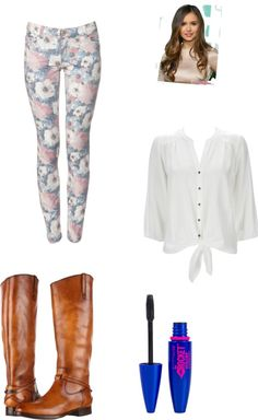 """OOTD:School"" by eleanorcalder-anon22 ❤ liked on Polyvore"