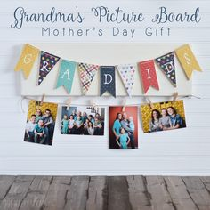 Grandma's Picture Board - The Wood Connection Blog