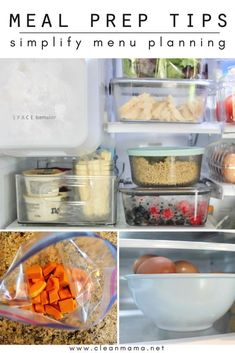 Meal Prep Tips to Simplify Menu Planning - Clean Mama Cooking For A Crowd, Cooking On A Budget, Cooking Tips, Food Tips, Frugal Meals, Freezer Meals, Easy Meals, Paleo Meals, Cheap Meals