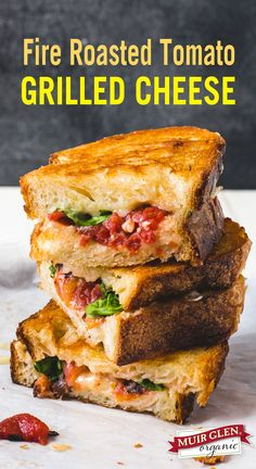 Subtle smokiness of fire roasted tomatoes combined with sharp cheddar and basil…