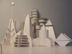 Lesson Idea: Build the city of the future from recycled materials    Utopian Metropolis by ~NiGhTmArE-NaThAn on deviantART
